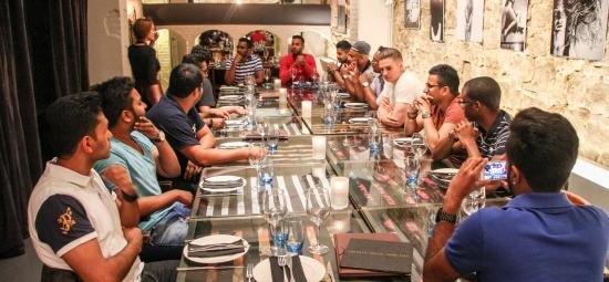 Menús de grupo en Barcelona. Cenas de grupo en Barcelona