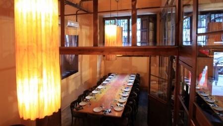 Restaurantes con reservados Barcelona