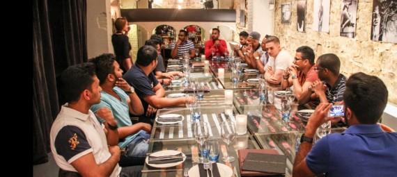 Restaurante para grupos en Barcelona. Restaurantes de Barcelona para cenas de empresa
