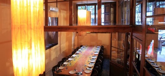 private dining room in Barcelona. Restaurante con sala privada Barcelona