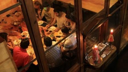 Cenas para grupo Barcelona en sala privada