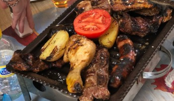 Parrillada de carne en Barcelona